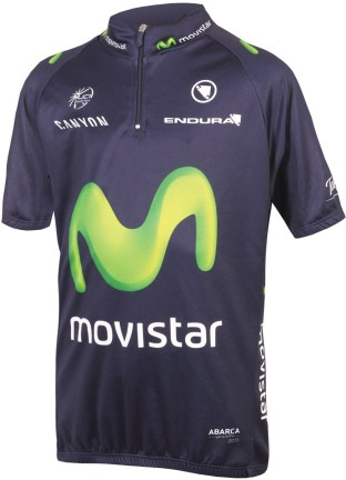 Endura Movistar kids cycling jersey Black Friday deal