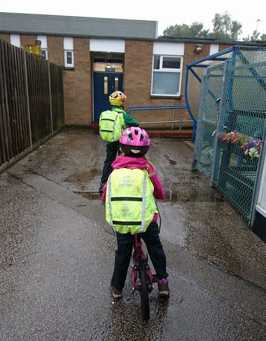 School bike shed