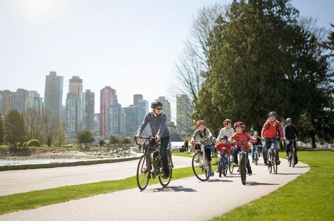 Vancouver cycling tour