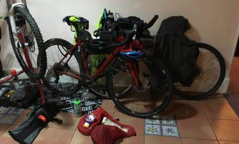 LEJOG bikes