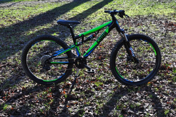 kids full suspension mountain bike