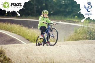 Union Jack Frog bike - Queen's Award for Enterprise