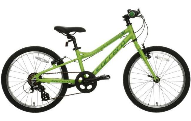 Carrera Abyss 20 is one of the cheapest bikes for a 6 year old - available from Halfords its suitable for girls and boys aged 6 or 7 years old
