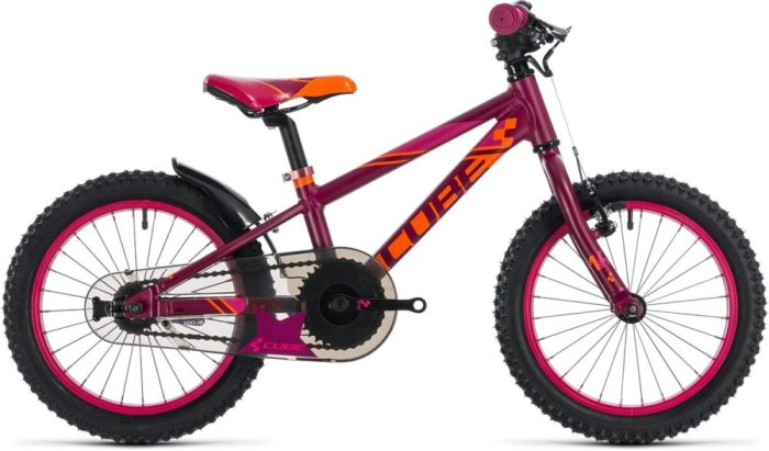 Cube Kid 160 pink girls bike - Black Friday girls bike