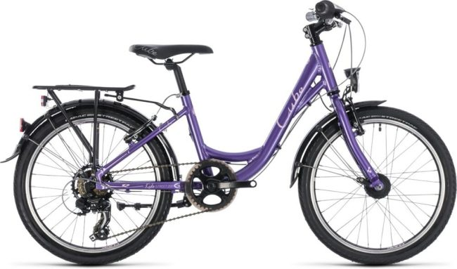 Cube Kid 200 Street Girl bike for 6 year old girl to ride to school