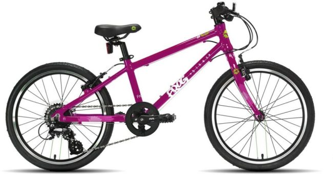 Frog 55 Piink bike for a 6 year old girl