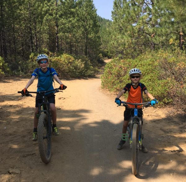 Polaris Mini Adventure kids cycling jersey