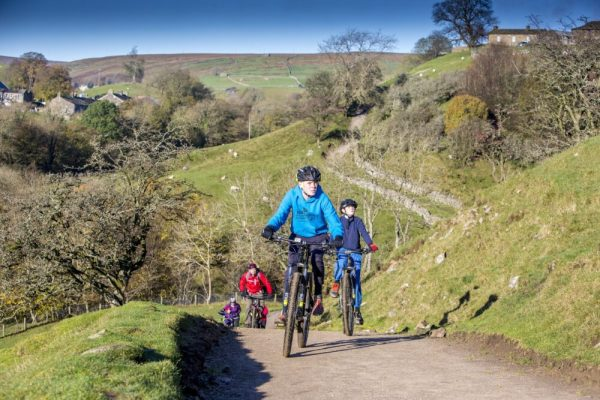 Swale Trail Yorkshire Dales - family mountain biking for kids in the Yorkshire Dales