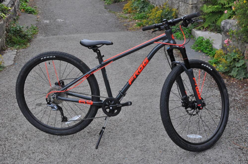 718cf6ca2 Frog MTB 69 kids mountain bike review - Cycle Sprog
