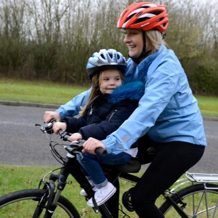 The best front bike seats for older children - the Oxford Little Explorer