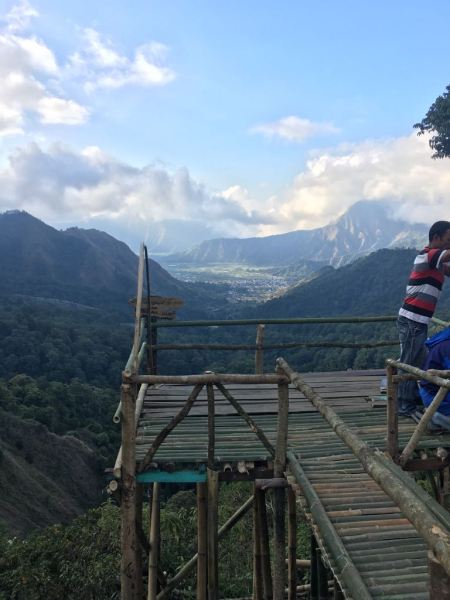 Sembalum valley , Lombok, Indonesia- view from the pass