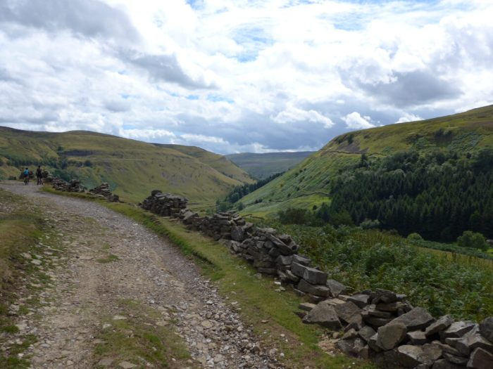 Stunning views on the Swale Trail near Keld