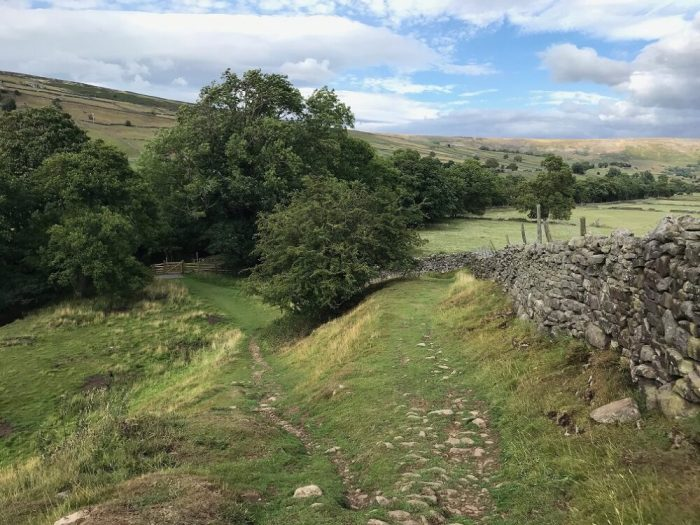 Swale Trail Reeth to Gunnerside gates