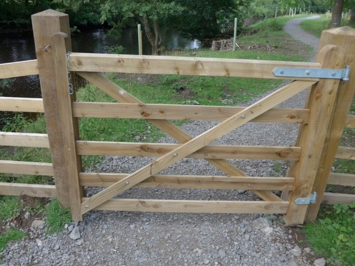 Swale Trail gates - you need to keep stopping