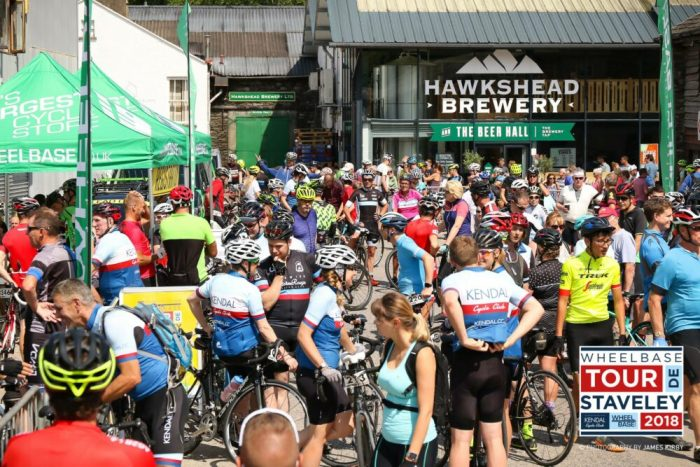 Signing on for a sportive - the Tour de Staveley
