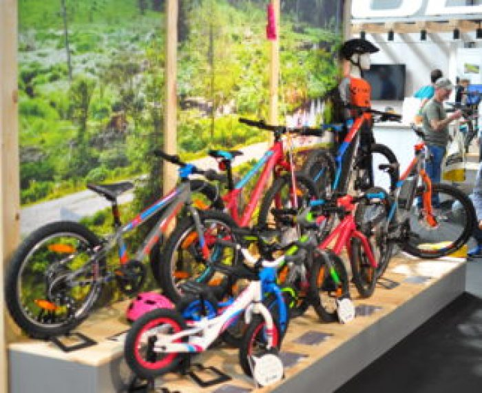 Cube Kids Bikes on display at the 2018 Cycle Show