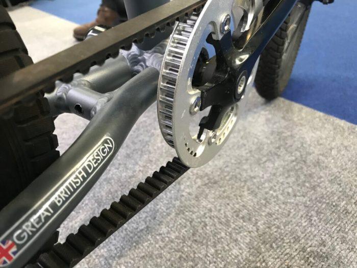 Kiddimoto belt drive bikes