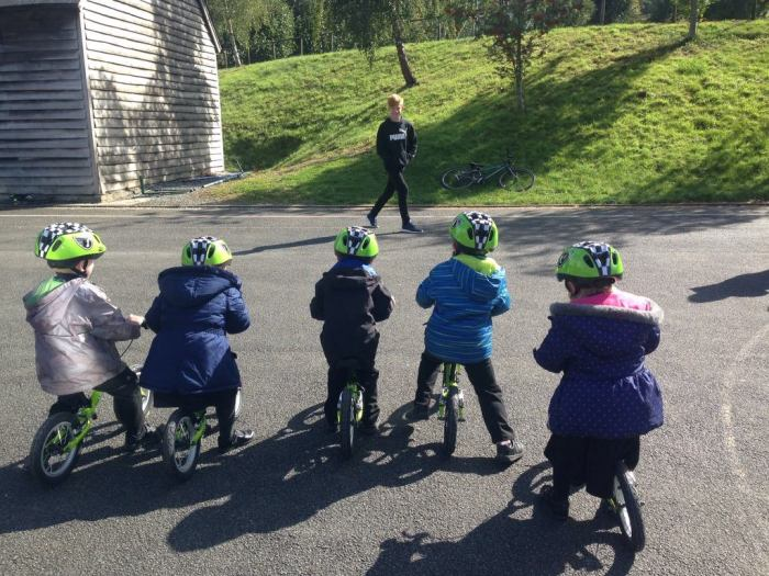 Games for balance bikes - What TIme is it Mr Wolf