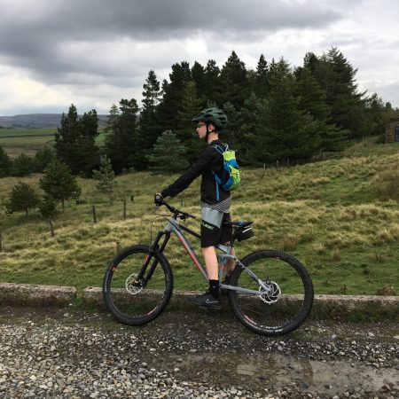 Review of Cube Action MTB shorts for a teenager