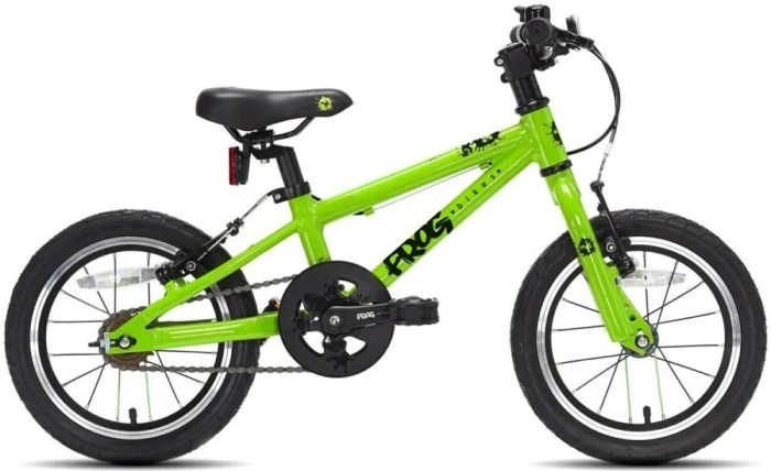 Frog 43 kids bike for a 3 or 4 year old child