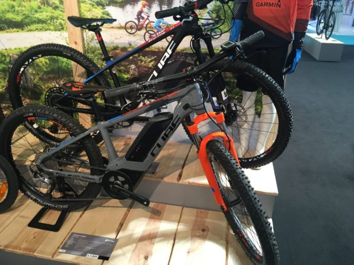 Cube Acid 240 Hybrid Youth at Cycle Show 2018