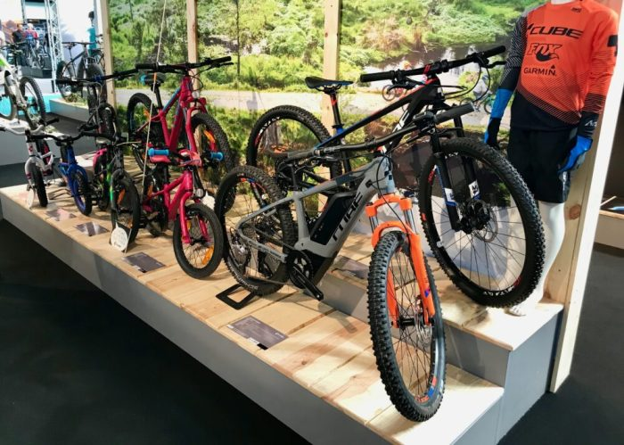 Cube Stand kids bikes - Cycle Show 2018 NEC