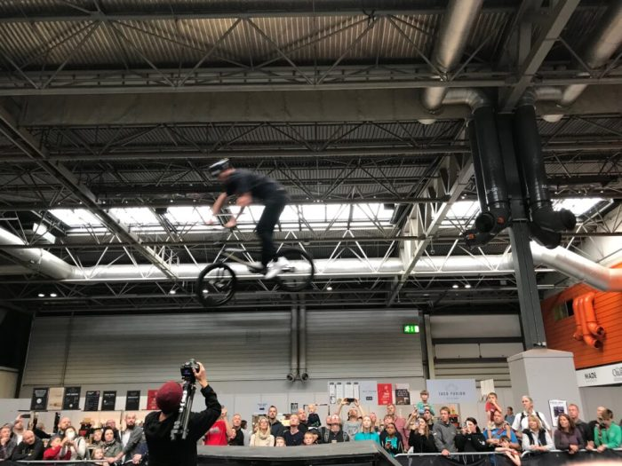 Battle of the BMX at Cycle Show 2018