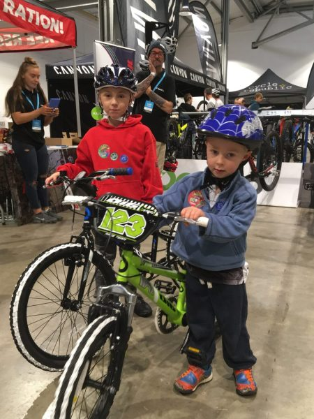 Insync Kids bikes at the Cycle Expo Yorkshire 2018