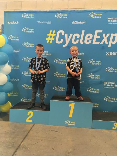 Podium place at the Yorkshire Cycle Expo 1