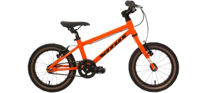 Vitus 14 inch kids bike for kids aged 3 and 4 years of age