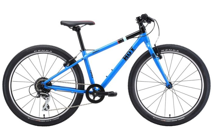 "Hoy Bonaly 24 - one of the lightest weight kids 24"" wheel childrens bikes available"