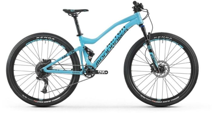 Mondraker Factor 26 kids full suspension MTB
