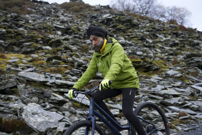 Mountain bike for old person