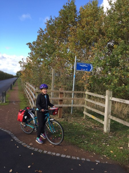 Family cycling holiday along the Trans Pennine Trail