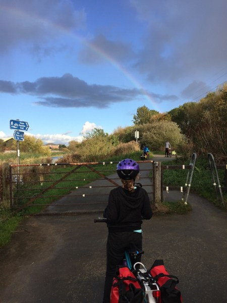 All the Gates along the Trans Pennine Trail can be a hassle when you're cycling with panniers, trailers and tagalongs