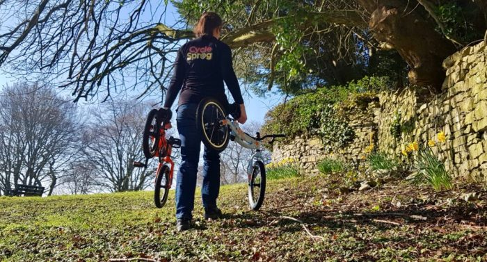 Light weight kids first pedal bikes - the Pinto and Skog by Black Mountain - bikes which grow with your child and convert from a balance bike to a pedal bike