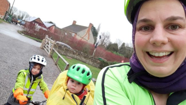 Why I love cycling with my kids