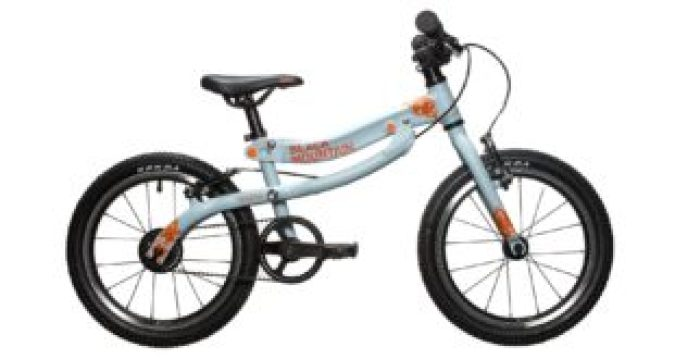 "Black Mountain Skog - one of the best 16"" wheel kids bikes available, which transforms from a balance bike"