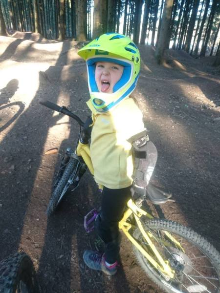 Girls on bicycles - mountain biking girls