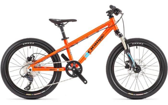 "Orange Zest 20S - 20"" wheel kids mountain bike"