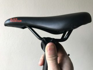 Pinto saddle - high mode