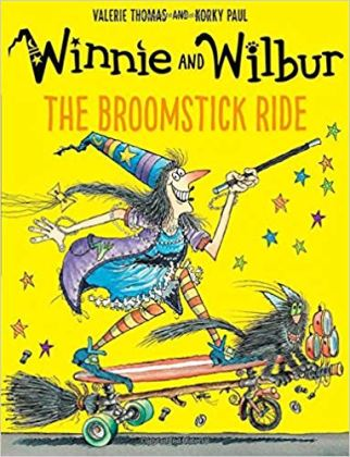 Winnie and Wilber and the Broomstick Ride - featuring cycling as a mode of transport in the children's book