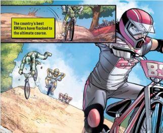 BMX Blitz book - kids book about BMX