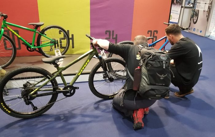 Closer look at the Vitus kids bikes at the London Bike Show