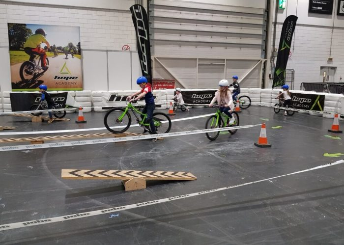 Hope Academy Kids Test Track at London Bike Show 2019