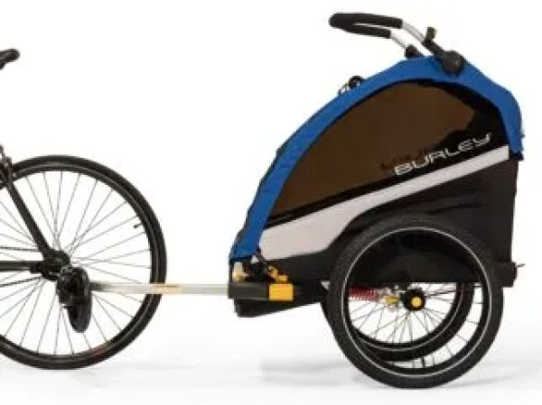 Burley D'Lite Single Seat child bike trailer