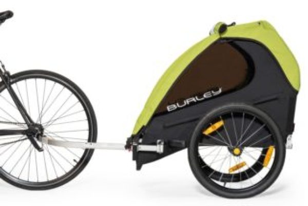 Burley Minnow Single Seat bike trailer