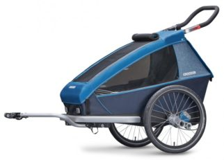 Croozer Kid Plus for 1 single child bike trailer