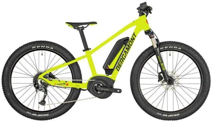 "The Bergamont E-Revox Junior 24"" wheel electric MTB"