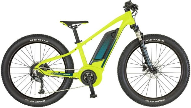 Scott Roxter ERide 24 Junior electric mountain bike